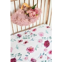 Wanderlust & Rouge Pink 2 Pack I Fitted Cot Sheet