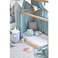 Stone & Wild Fern 2 Pack I Fitted Cot Sheet