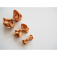 Mustard Clip Bow - Medium