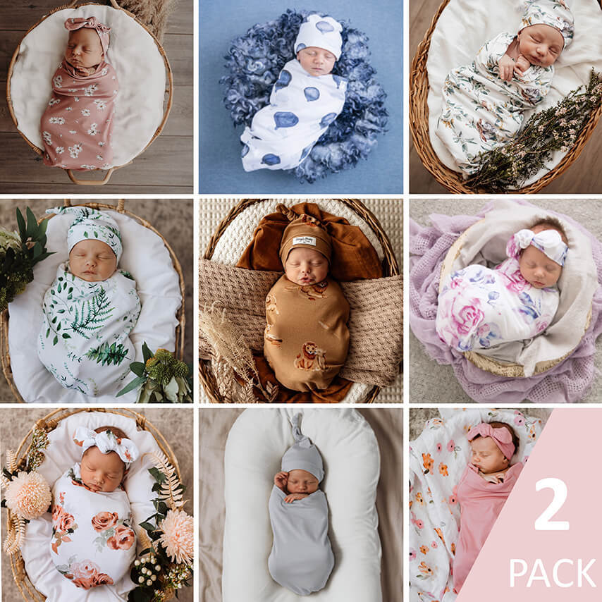 2 Pack | Snuggle Swaddle Set