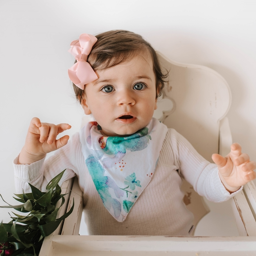 Sweet Petal - Dribble Bib