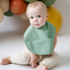 Sage | Snuggle Bib Waterproof
